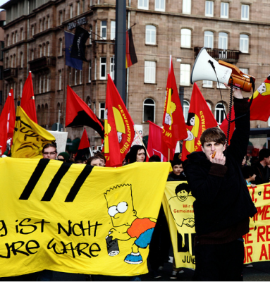 Bildungsstreik 2011 – Zehntausende gegen Bildungsabbau und Krise