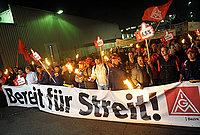 IG-Metall Warnstreiks – Für die volle Mobilisierung für die Erfüllung unserer Forderungen!
