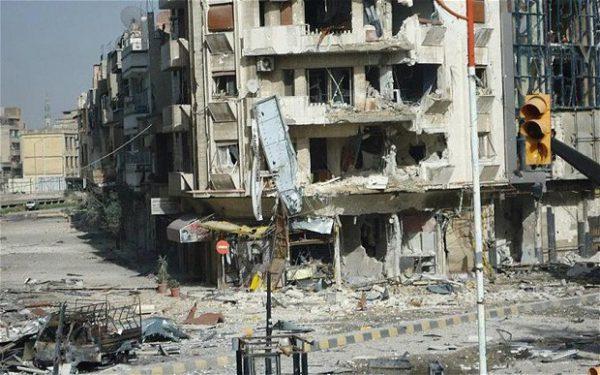 Schauplätze der Syrischen Revolution