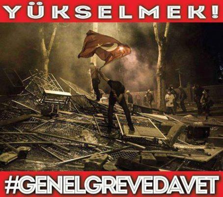 Türkischer Frühling – Taksim den Arbeiter_innen, Nieder mit Erdogan!