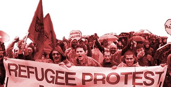 Uni- und Schulstreik am 13.02. in Berlin – Flüchtlinge bleiben, Henkel verteiben!