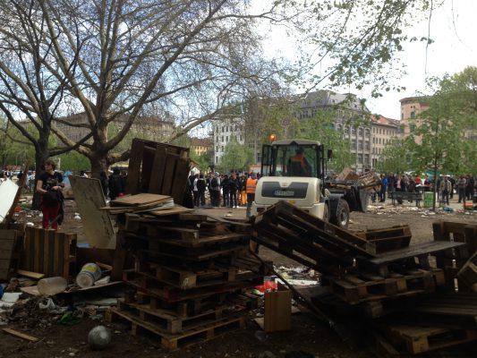 Der O-Platz wurde geräumt – der Kampf gegen Rassismus geht weiter!