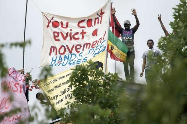 YOU CAN'T EVICT A MOVEMENT – Stellungnahme der Geflüchteten der Gerhardt-Hauptmann-Schule