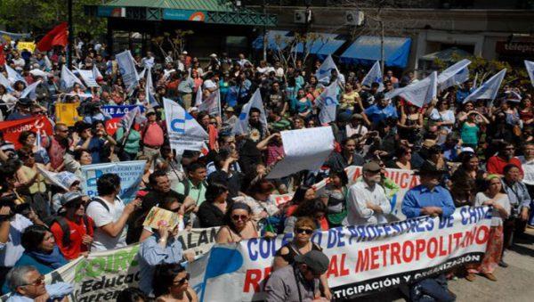 Rebellion der Basis – Streik der LehrerInnen in Chile