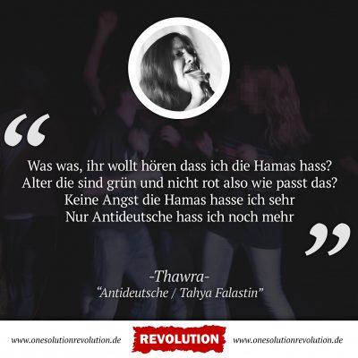 Solidarität mit Thawra!
