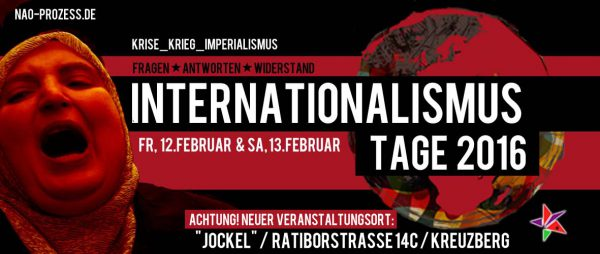 Trotz Raumkündigung: Internationalismustage finden statt!