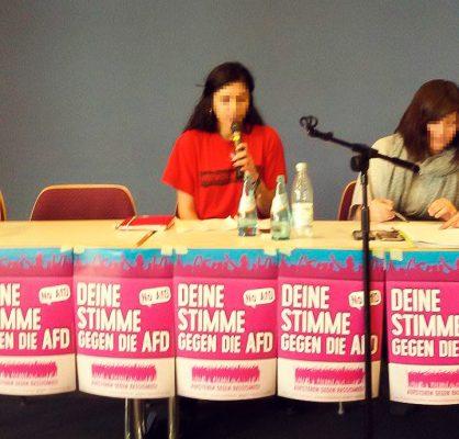 Rede von REVOLUTION-Aktivistin bei Aufstehen gegen Rassismus-Konferenz: