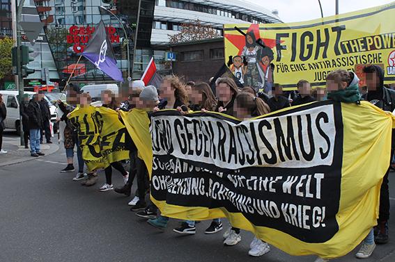 Resolution des bundesweiten Bündnisses Jugend gegen Rassismus
