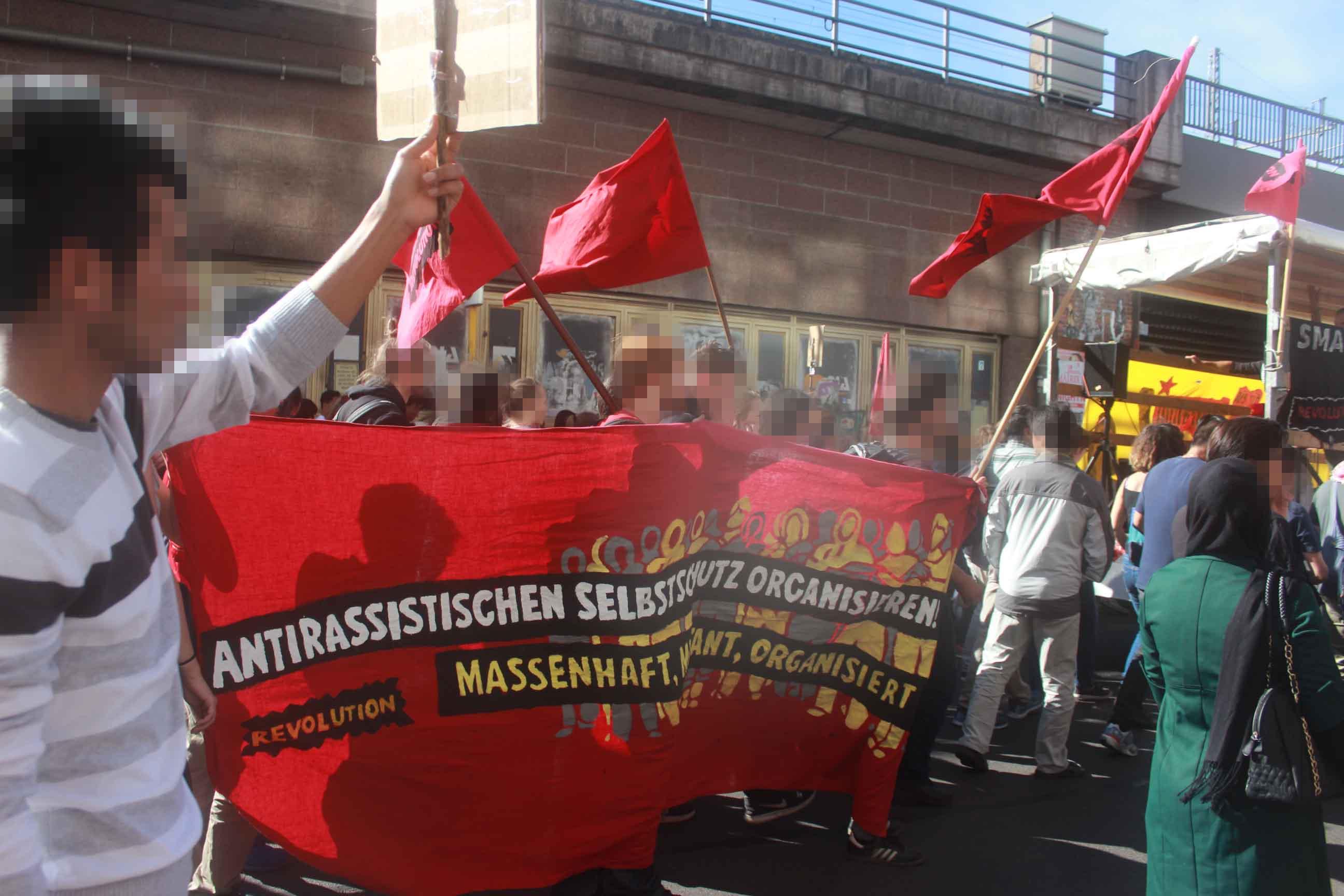 Antirassistischen Selbstschutz organisieren!