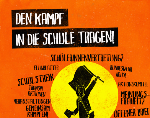 Schulflugblatt: Bundestagswahl 2017