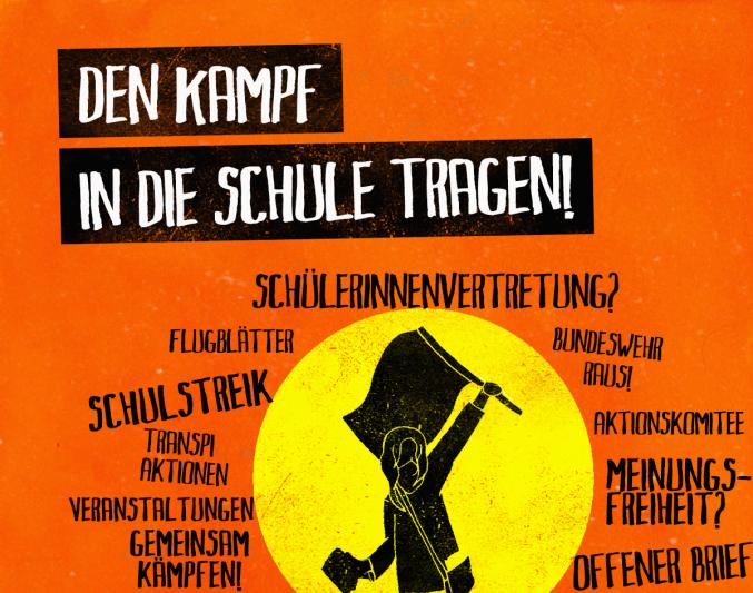 Hände weg von unseren Schulen!  Stoppt die Schulprivatisierungen des Berliner Senats!