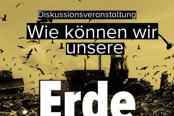 Veranstaltung in Kassel: Wie können wir unsere Erde noch retten?