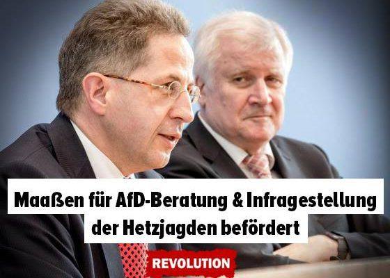 """""""Es gab keine Menschenjagd!"""" – Chemnitz, der VS und Hans-Georg Maaßen"""