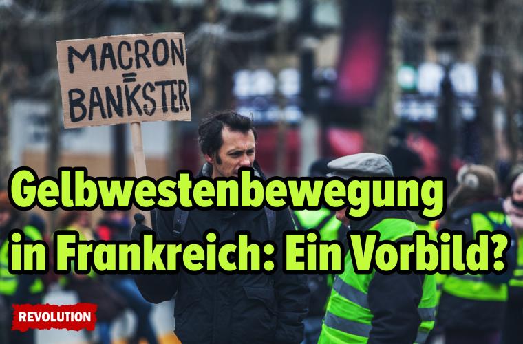 """""""Gelbwestenbewegung"""" in Frankreich: Ein Vorbild?"""