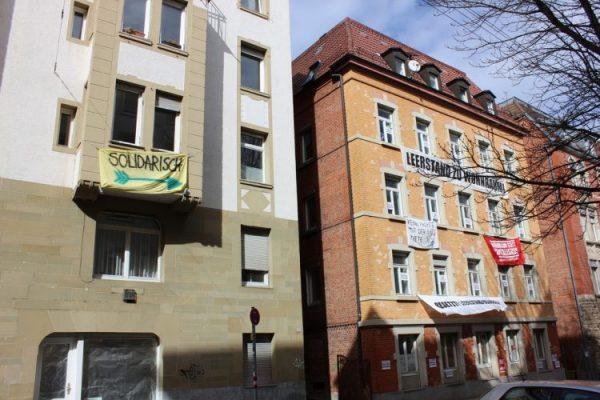 """Polizeiangriff auf MieterInnendemo in Stuttgart – Erinnerungen an den """"Schwarzen Donnerstag"""" werden wach"""