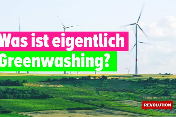 Was ist eigentlich Greenwashing?