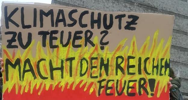 Heraus zum Generalstreik fürs Klima am 20. September!