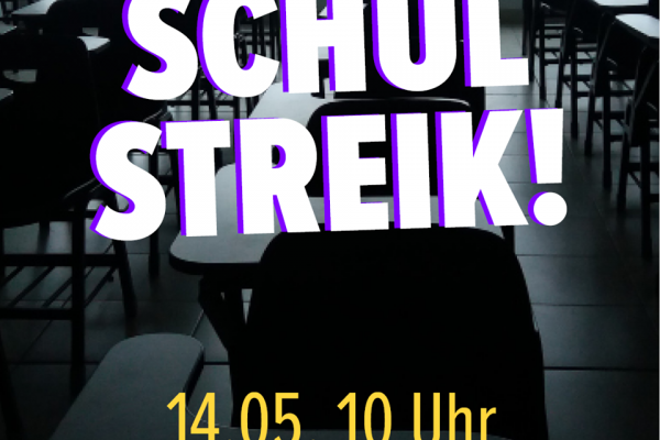 Aufruf zum Schulstreik gegen die Öffnung der Schulen!