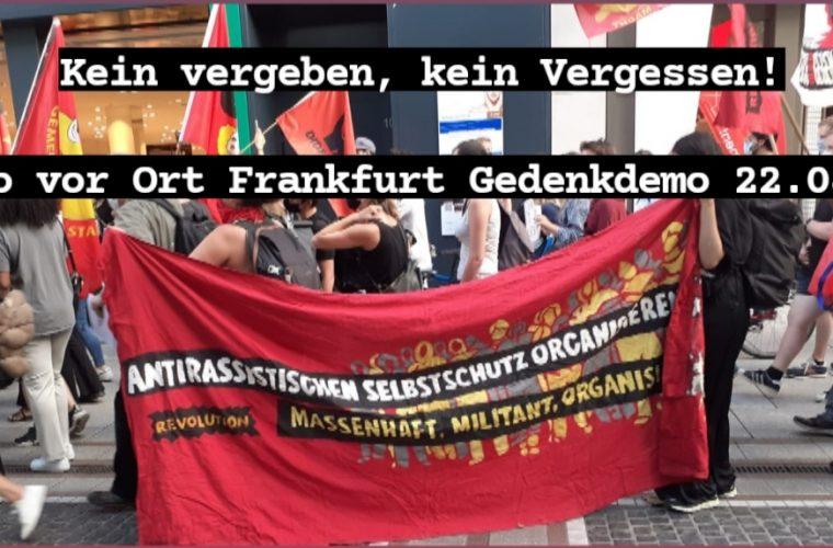 6 Monate nach Hanau: Was brauchen wir, damit Nazis nicht mehr morden?