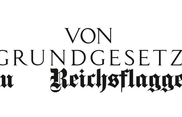 Die Radikalisierung der Querdenkenbewegung.