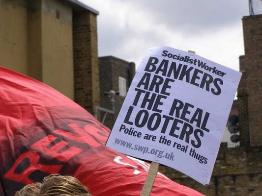Aufstände in Großbritannien – Poverty is the cause, repression the response!