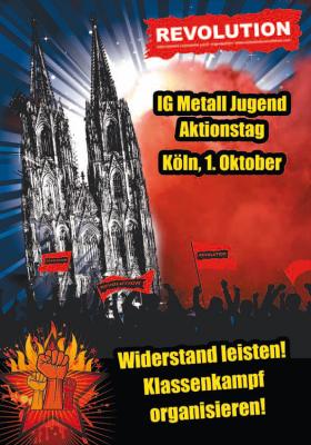 IGM-Jugendaktionstag in Köln – Gewerkschafter_innen gemeinsam gegen Krise und Kapital