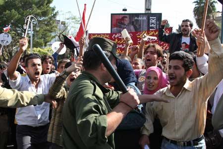 """Für """"Freiheit und Demokratie"""" in Syrien – und weiter?"""