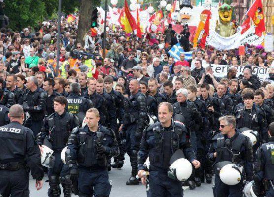 Blockupy als Zeichen, europaweite Massenaktionen als Ziel
