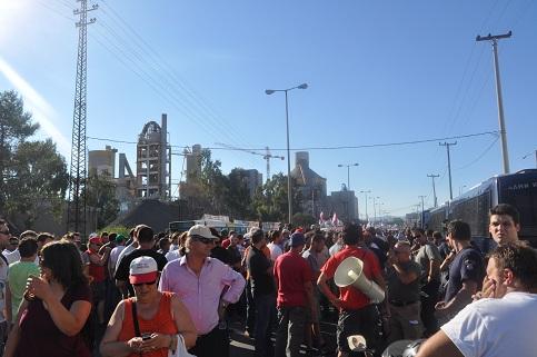 Verteidigt den Streik der griechischen Stahlarbeiter_innen!