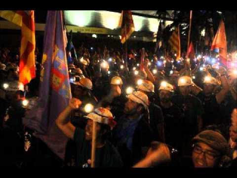 """Massenproteste in Spanien – Die """"Mineros"""" werden zum Leuchtfeuer der spanischen Arbeiterklasse und Jugend"""