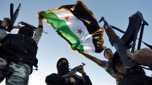Nieder mit Assad – Sieg der Free Syrian Army!