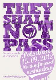 """They shall not pass"" – Nazidemonstration in Potsdam verhindern!"