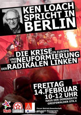 Berlin: Die Krise in Europa und die Neuformierung der radikalen Linken