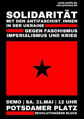 Solidarität mit den AntifaschistInnen in der Ukraine: Gegen Faschismus, Imperialismus und Krieg