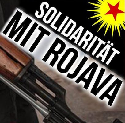 Solidarität mit Rojava: Widerstand braucht Waffen, Sieg der YPG/YPJ