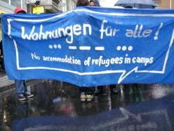 """Demo in Kassel: """"Wohnraum statt Leerstand!"""""""