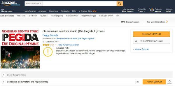 Zum PEGIDA-Song auf Amazon