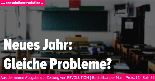 Neues Jahr: Gleiche Probleme?