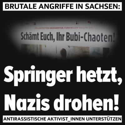 Gemeinsam gegen Rassismus und Repression: Angriffe auf linke Selbstorganisierung in Leipzig bekämpfen!