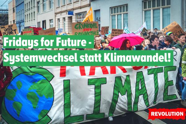 Fridays for Future: Systemwechsel statt Klimawandel!